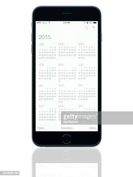Application de calendrier. 2015