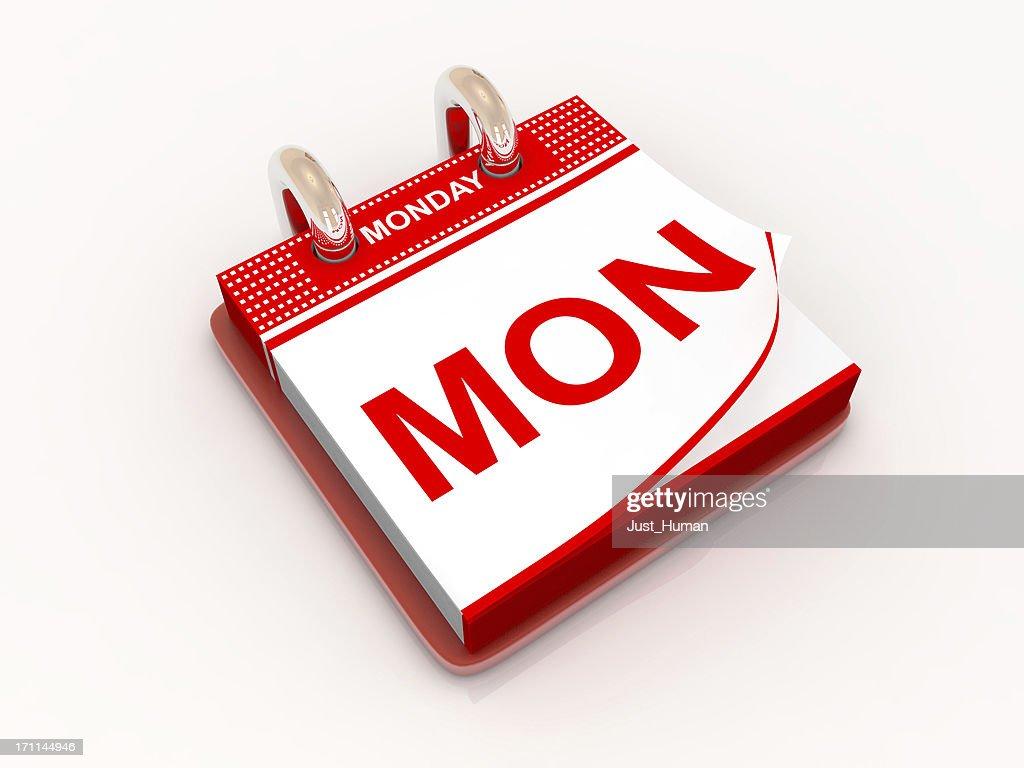 Calendar day Monday