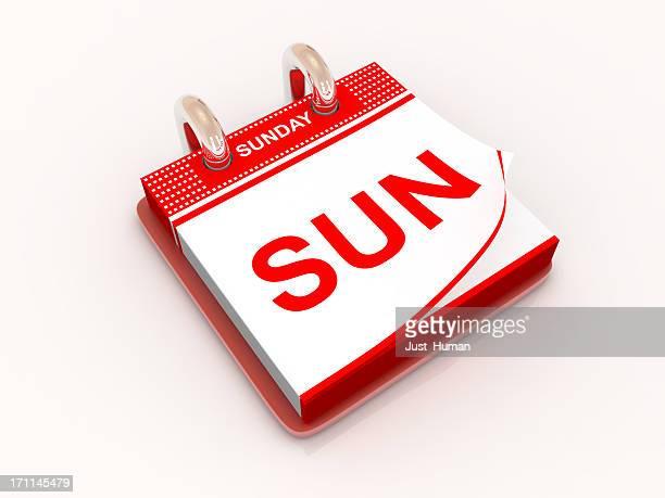 Calendar day Sunday