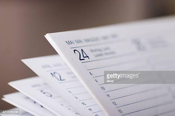 Pagine di calendario