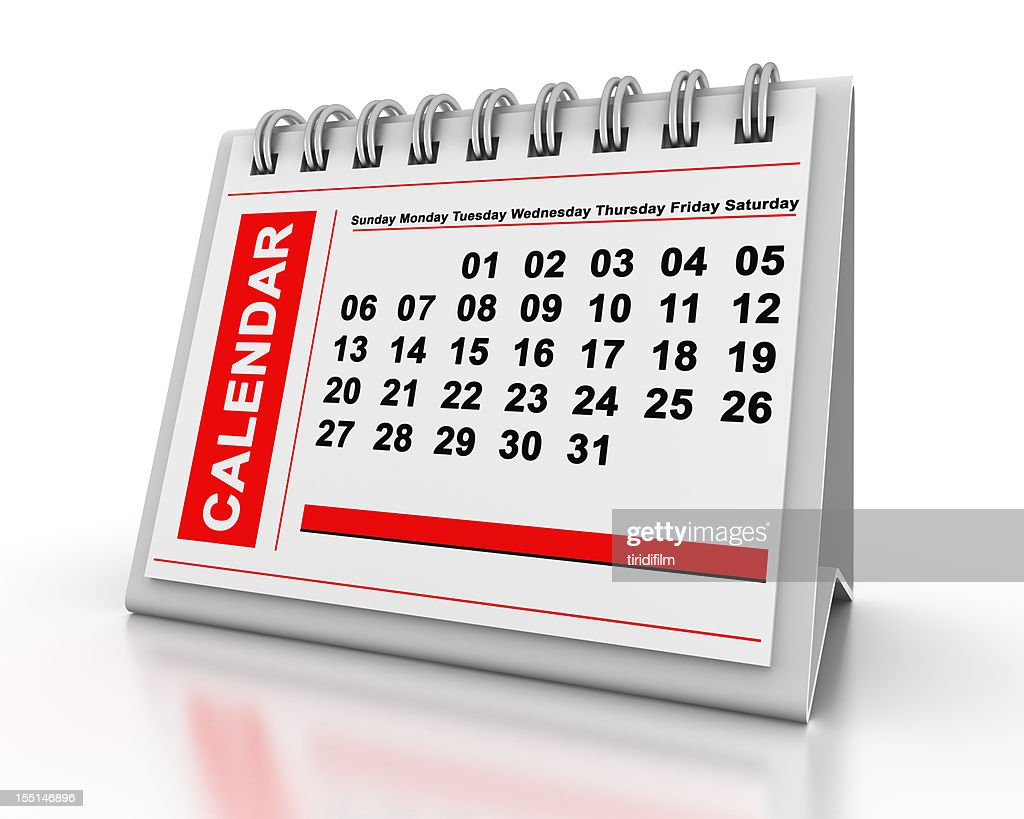 Calendar : Stockfoto