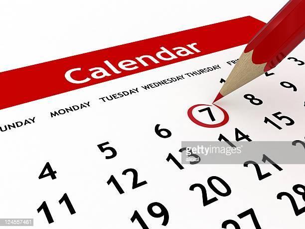 Calendario de planificación