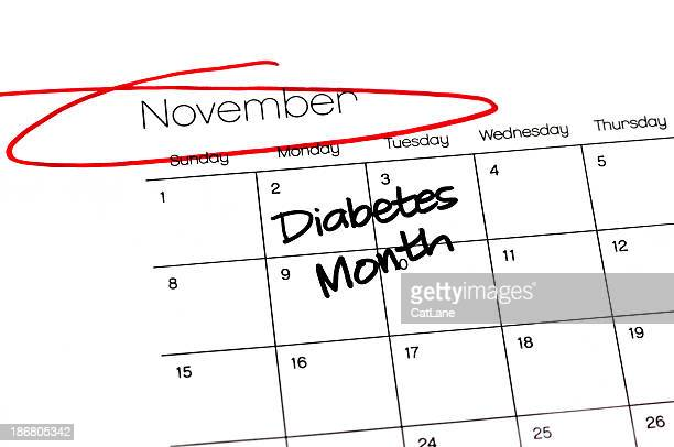 Calendar Series Diabetes Month