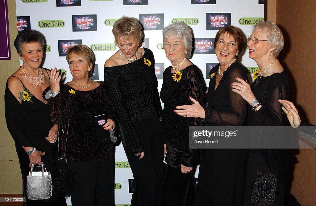 Calender Girls, British Comedy Awards At Lwt Studios In London, Pressroom