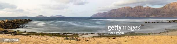 caleta de famara lanzarote canary islands islas canarias