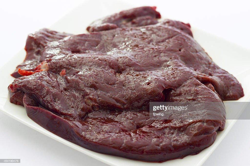 Calf's liver : Stock Photo