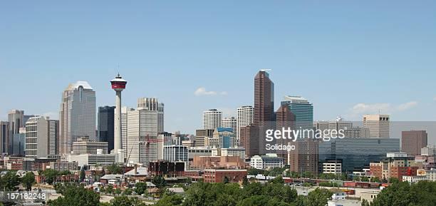 Calgary Alberta Skyline Panorama