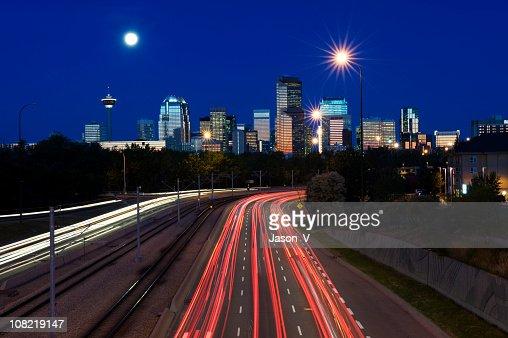 Calgary at Night