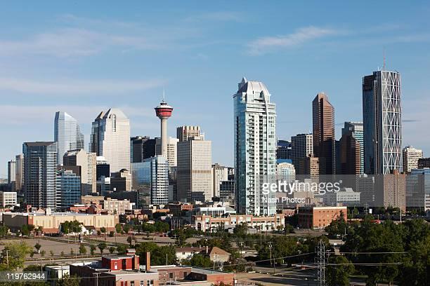 Calgary skyline with Calgary Tower