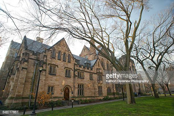 Calhoun College part of Yale University built in 1933 in collegiate gothic style architecture