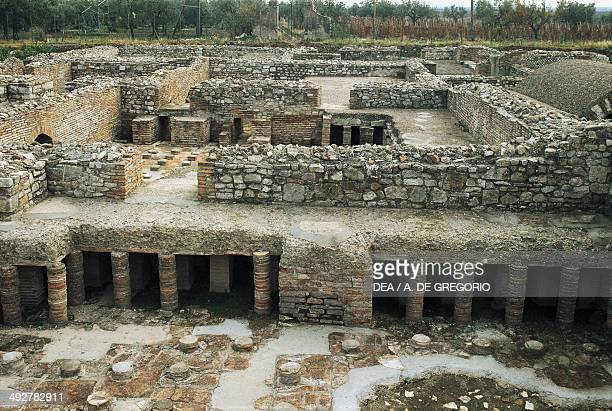 Calidarium of Roman thermal bath of Venosa Basilicata region Italy Roman civilization 2nd3rd century