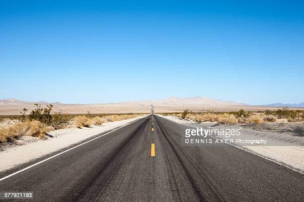 Califonia Desert Road