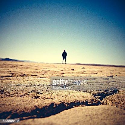 USA, California, Adelanto, El Mirage Dry Lake