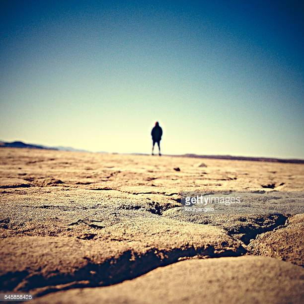 USA, California, Adelanto, El Mirage Dry Lake