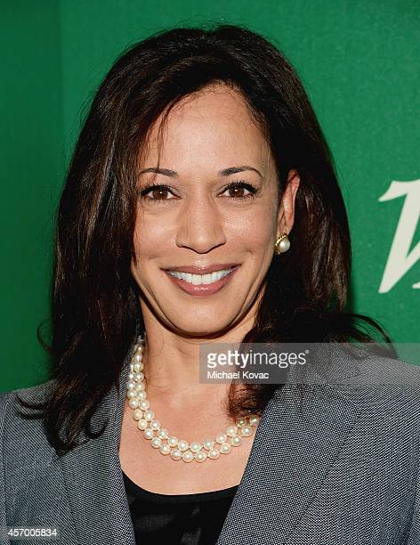 California Attorney General Kamala Harris attends the 2014 Variety Power of Women presented by Lifetime at Beverly Wilshire Four Seasons on October...
