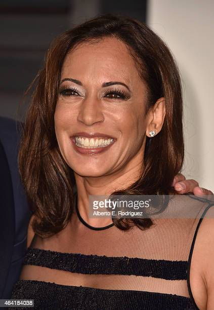 California Attorney General Kamala Harris attends the 2015 Vanity Fair Oscar Party hosted by Graydon Carter at Wallis Annenberg Center for the...