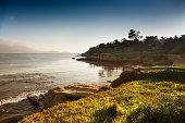 'USA, California, Big Sur, Coastline and sea'