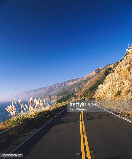 USA, California, Big Sur, Route 1 and coastline