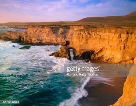 カリフォルニアの海岸線