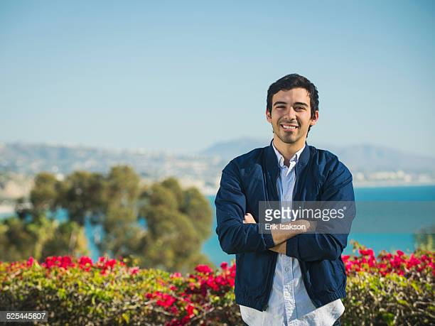 USA, California, Dana Point, Portrait of smiling man