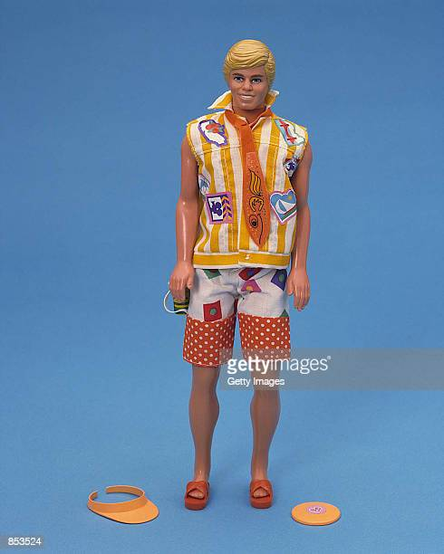 A 1998 California Dream Ken doll is dressed in beach attire in this studio portrait On March 13 Mattel toy company celebrated the 40th anniversary of...