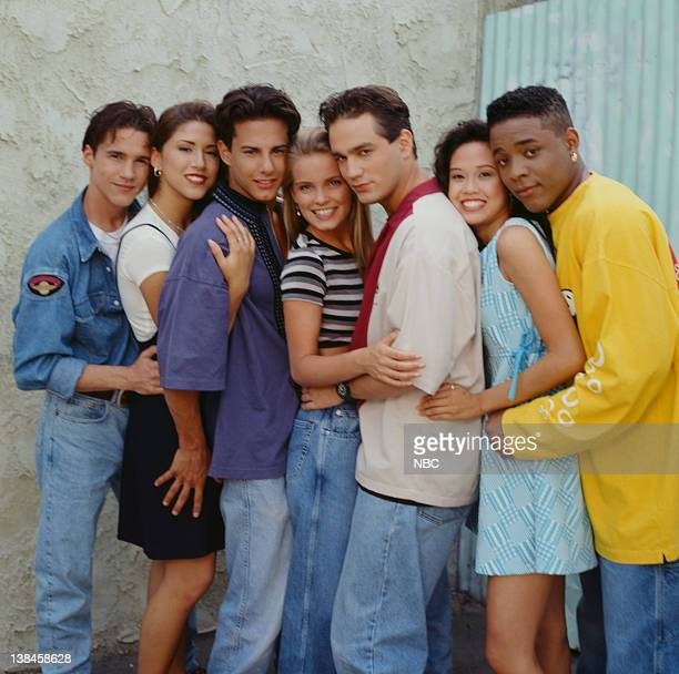California Dreams Season 3 Pictured Aaron Jackson as Mark Winkle Diana Uribe as Lorena Costa Michael Cade as Sylvester 'Sly Winkle' Kelly Packard as...