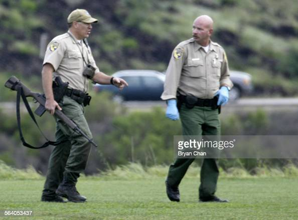 California fish and game officers emerge from the canyon for Wsbtv fish and game