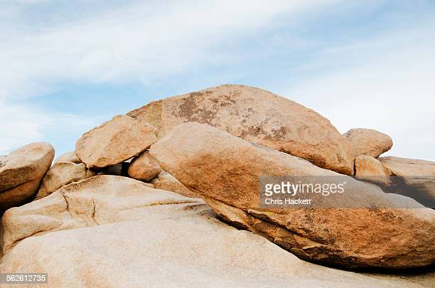 USA, California, Joshua Tree National Park, View of boulders