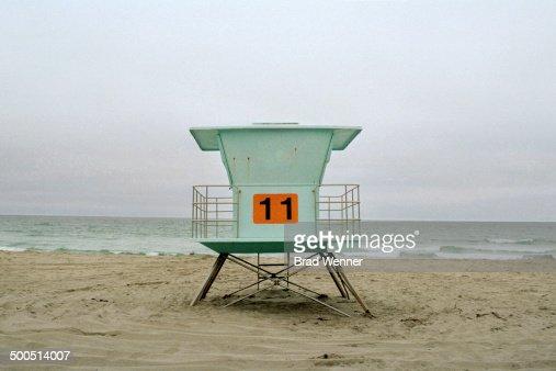 California Life Guard Hut