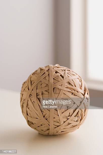 USA, California, Los Angeles, Ball of paper string