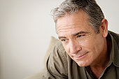 USA, California, Los Angeles, Mature man lost in thoughts