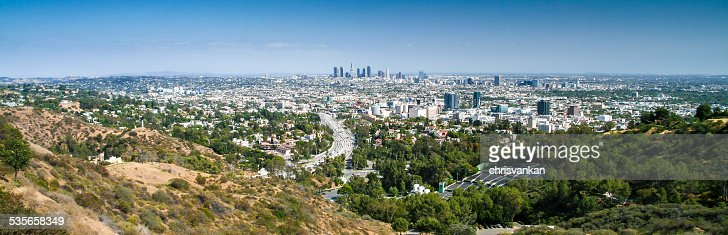 USA, California, Los Angeles panorama