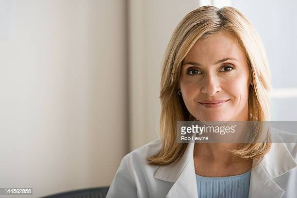 USA, California, Los Angeles, , Portrait of female doctor