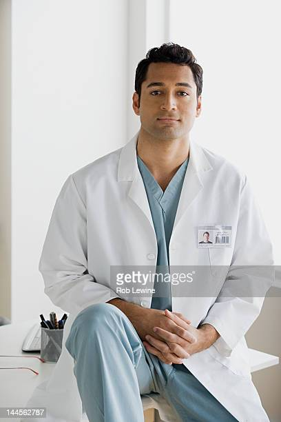 USA, California, Los Angeles, Portrait of male doctor