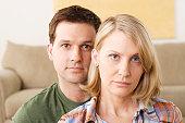 USA, California, Los Angeles, Portrait of mid adult couple