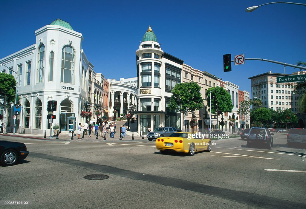 USA, California, Los Angeles, Rodeo Drive