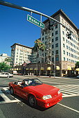 USA, California, Los Angeles, Rodeo Drive (exclusive shopping area)
