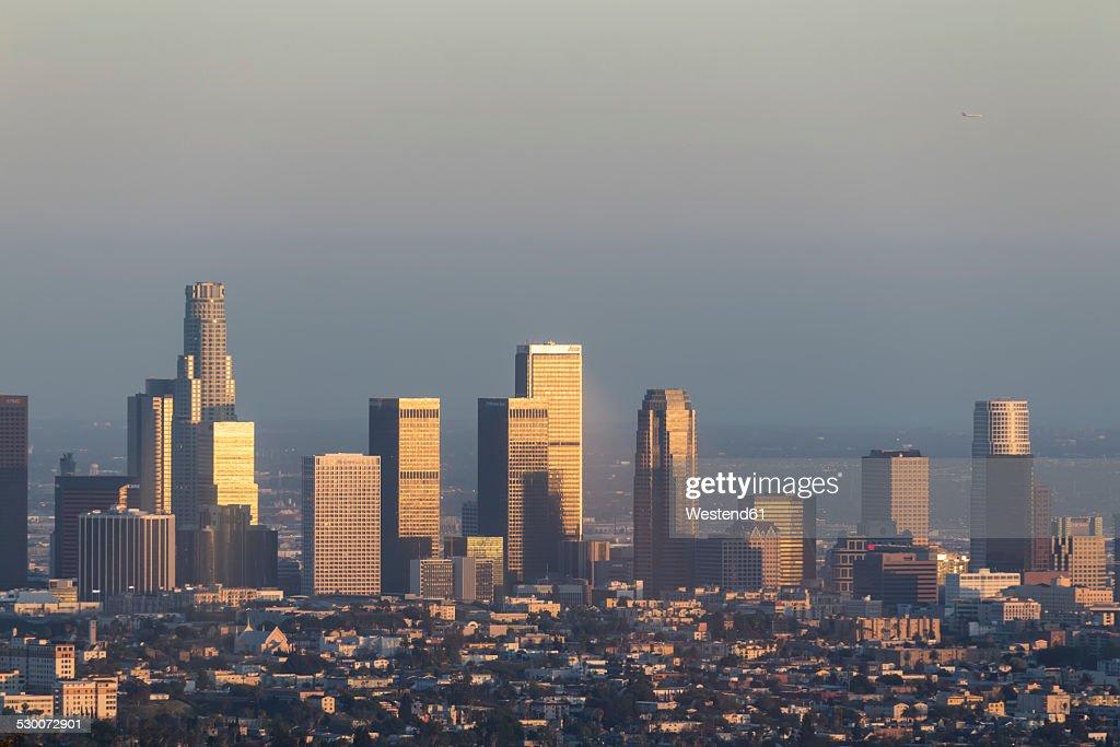 USA, California, Los Angeles, Skyline