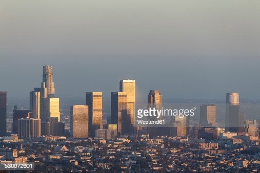 USA, California, Los Angeles, Skyline
