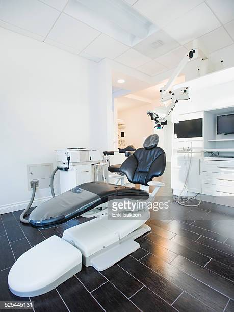 USA, California, Mission Viejo, Empty dentist's office with modern equipment