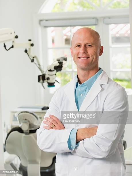 USA, California, Mission Viejo, Portrait of dentist