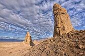USA, California, Mojave desert, Trona Pinnacles National Natural Landmark
