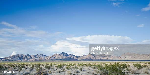USA, California, Mojave Desert, View of desert along Route 66
