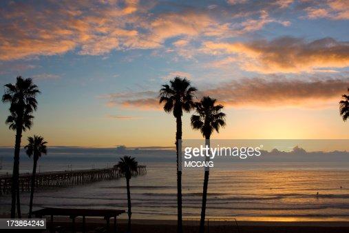 California ocean scenic