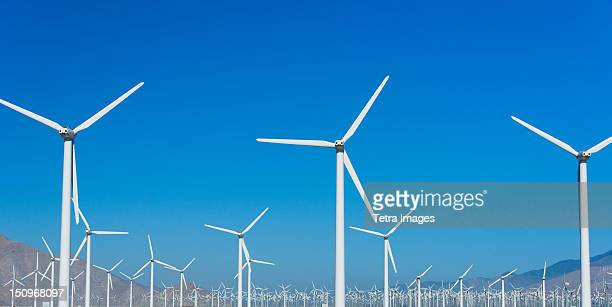 USA, California, Palm Springs, Wind farm