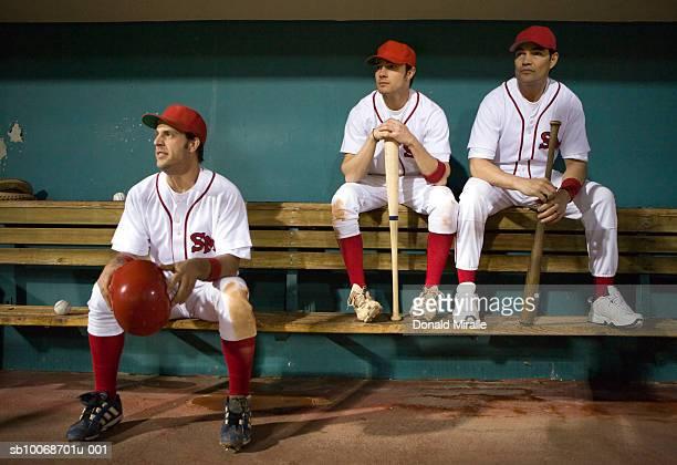 USA, California, San Bernardino, béisbol de estar players en activo