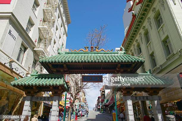 USA, California, San Francisco, China Town gate