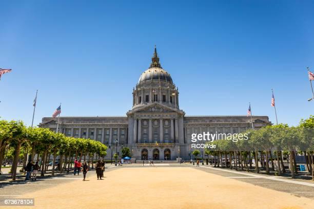 USA, California, San Francisco, City Hall