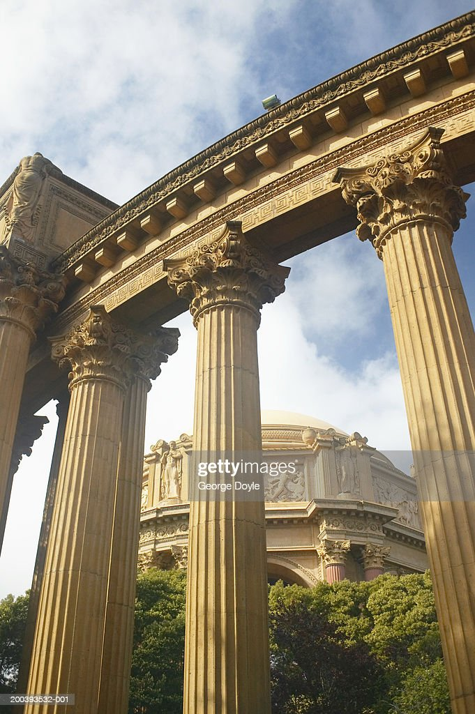 USA, California, San Francisco, Palace of Fine Arts : Stock Photo
