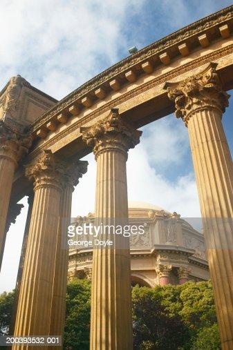 USA, California, San Francisco, Palace of Fine Arts : Stock Photo